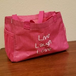 Thirty One All In Organizer bag tote pink